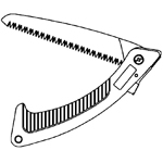Folding Saw Line Drawing Thumbnail